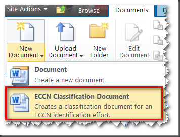 sharepoint document template